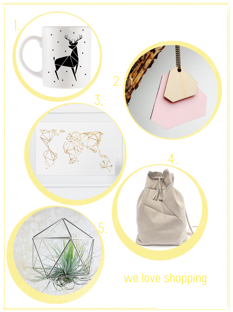 we love Shopping: Geometrisch |we love handmade