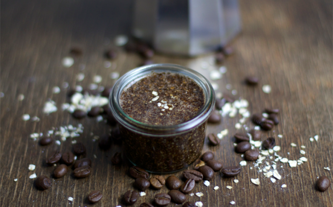 Beauty-DIY-Kaffee-Haferflocken-Body-Scrub-1