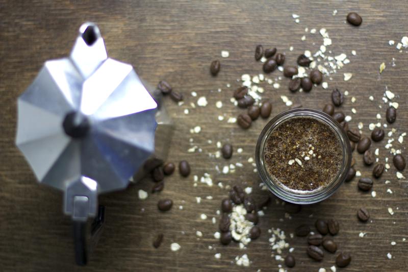 Beauty-DIY-Kaffee-Haferflocken-Body-Scrub-4