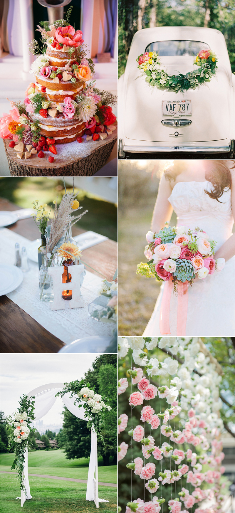 Inspiration Flowers Wedding | we love handmade