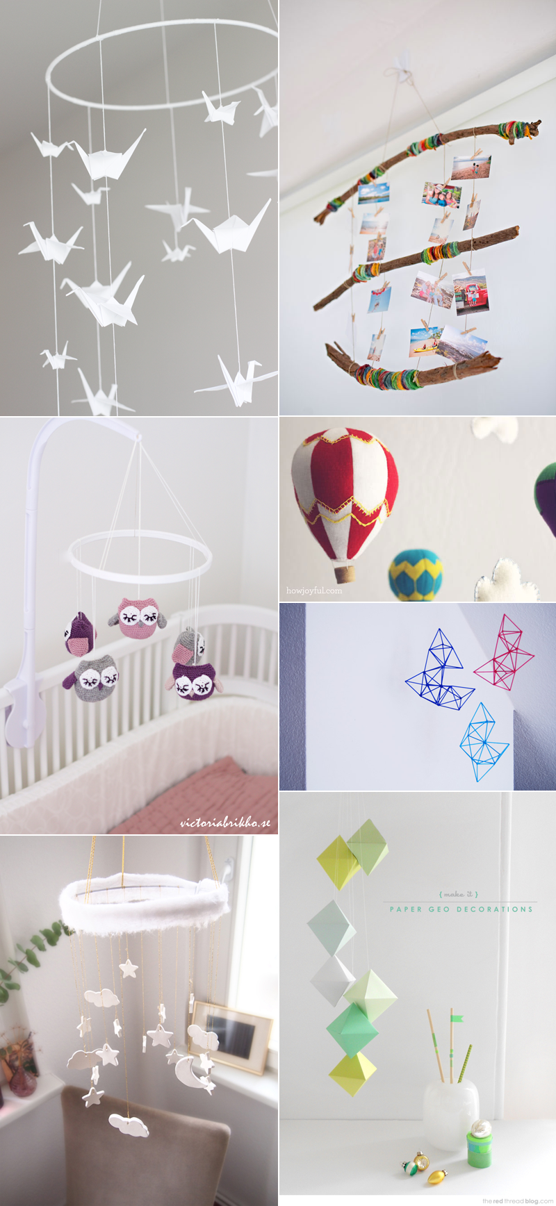 Inspiration für Mobiles | we love handmade