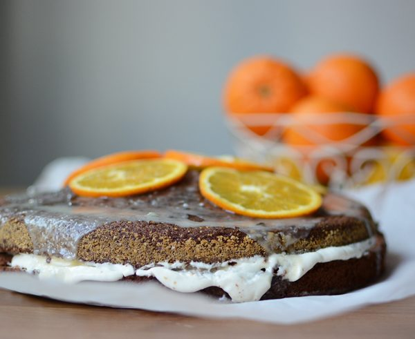 Schoko-Orangen-Torte | we love handmade