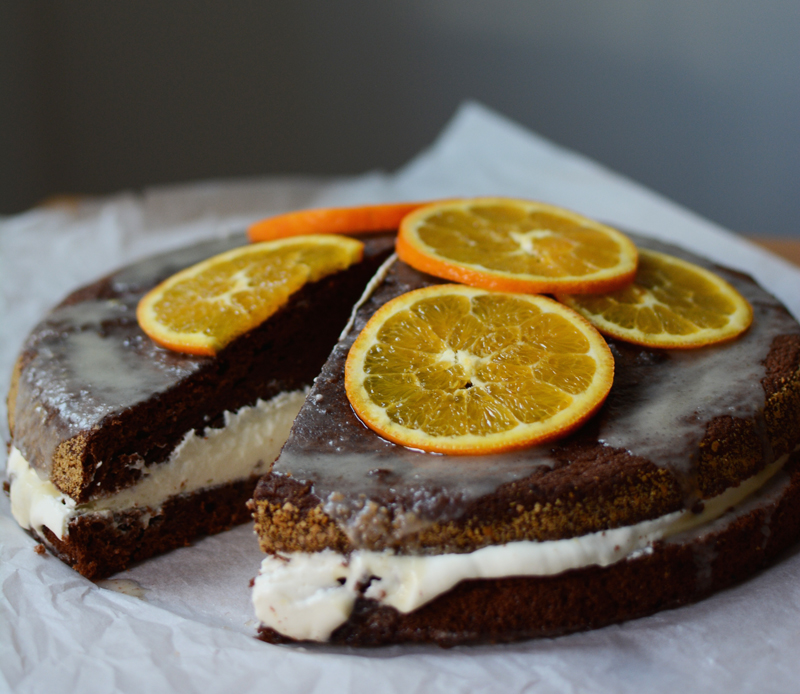 Schoko-Orangen-Torte backen | we love handmade