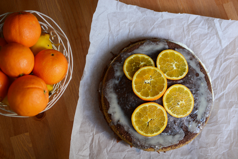Schoko-Orangen-Torte | we love handmade
