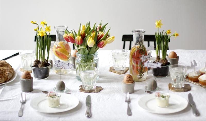 Oster-Tisch-Dekoration | we love handmade