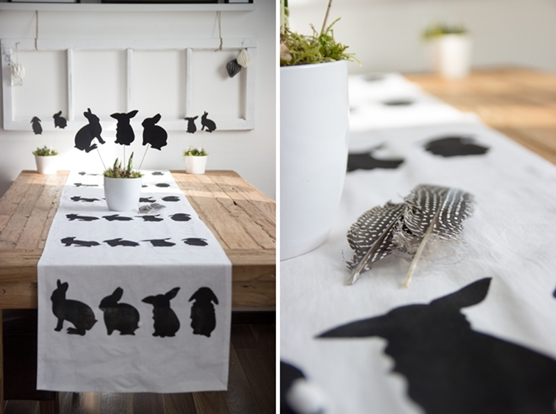 Hasenläufer DIY von creativlive | we love handmade