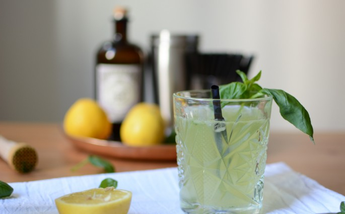 Cocktail-Rezept: Cocktail: Gin Basil Smash | we love handmade