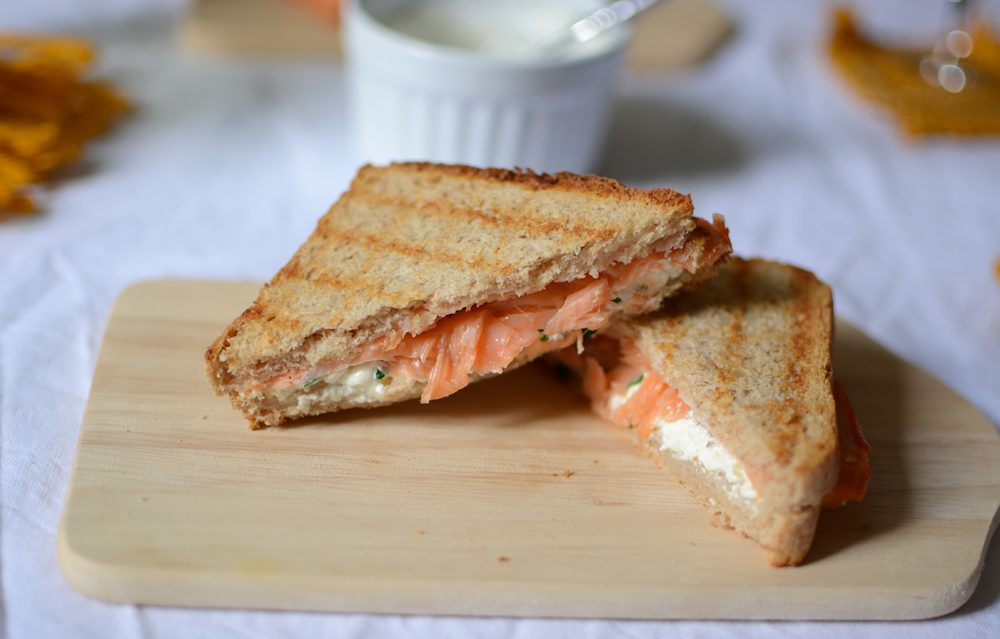 Lachs-Sandwich | we love handmade