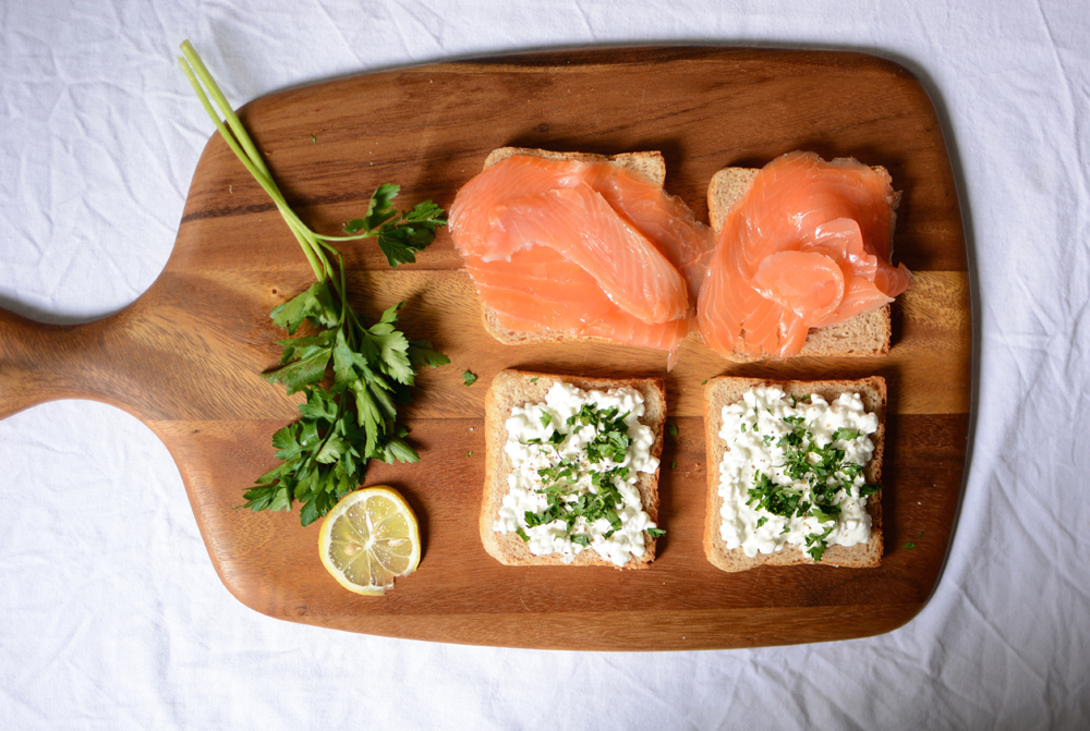 Lachs-Toast | we love handmade