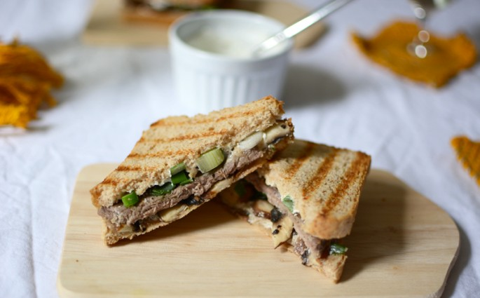 Rindfleisch-Champignon-Sandwich |we love handmade