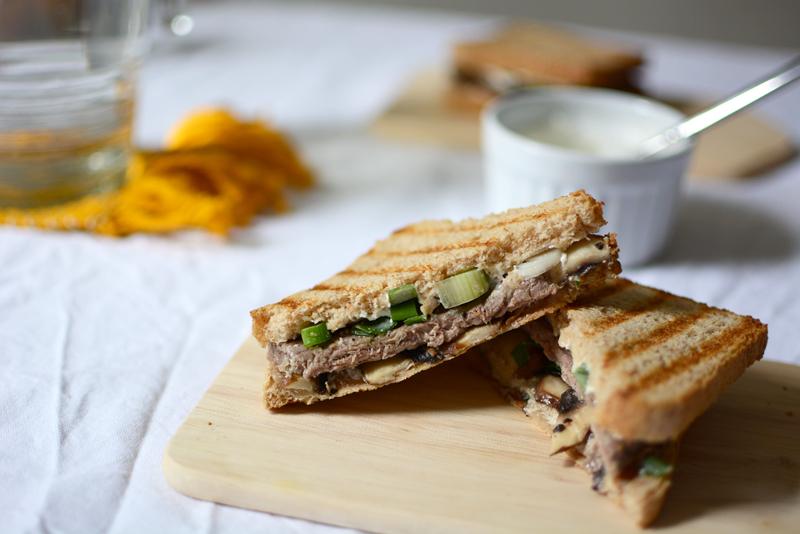 Rindfleisch-Champignon-Toast |we love handmade