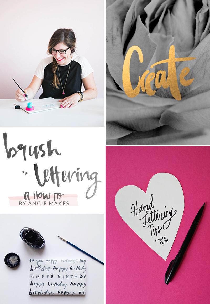 we love Inspiration Handlettering
