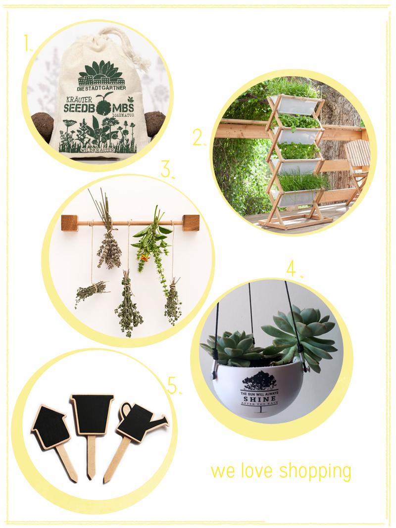we love Shopping: Urban Gardening |we love handmade
