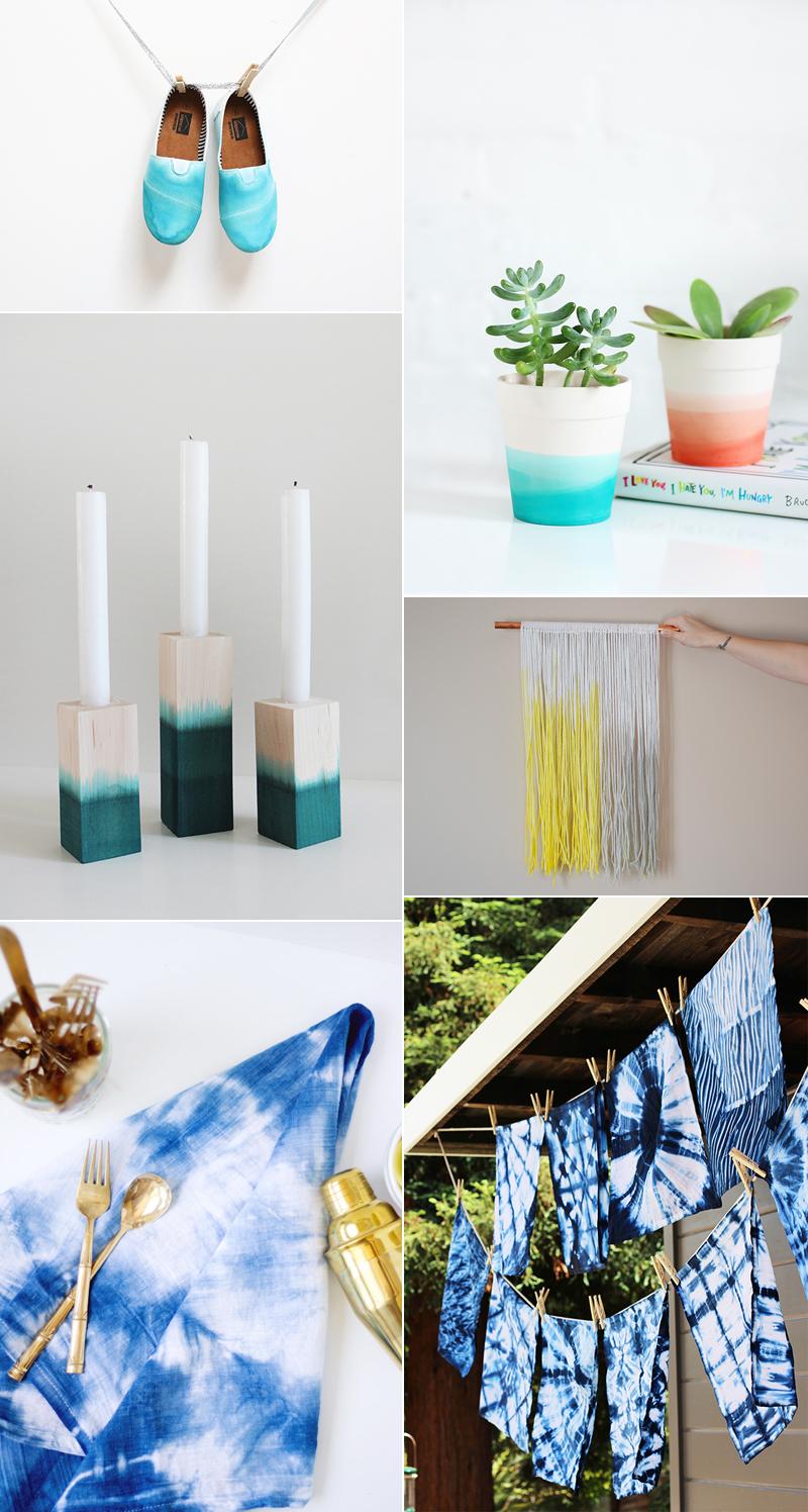 we love Inspiration: Dip Dye | we love handmade
