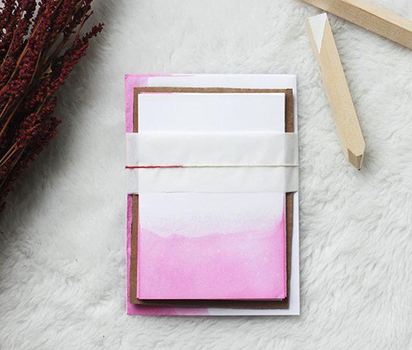 Poppytalk - Dip Dye Paper | we love handmade