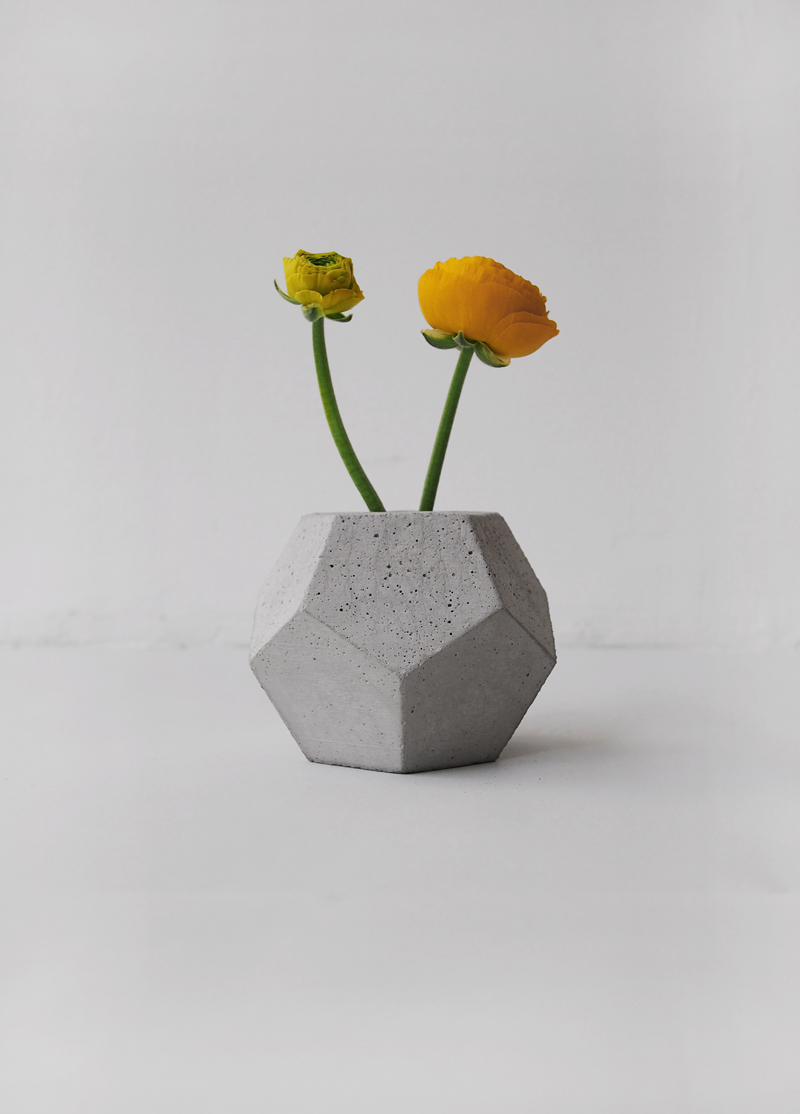Betonvase von frauklarer | we love handmade