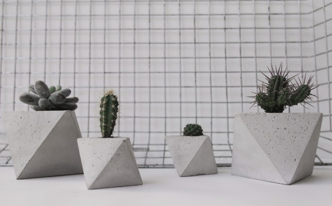 Planter von frauklarer | we love handmade