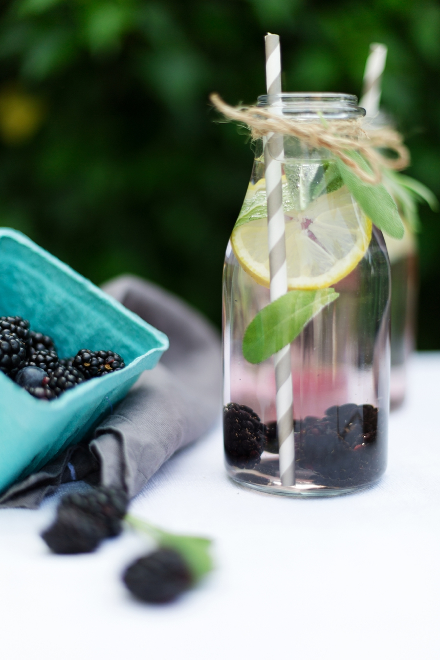Brombeer-Ingwer-Drink | we love handmade