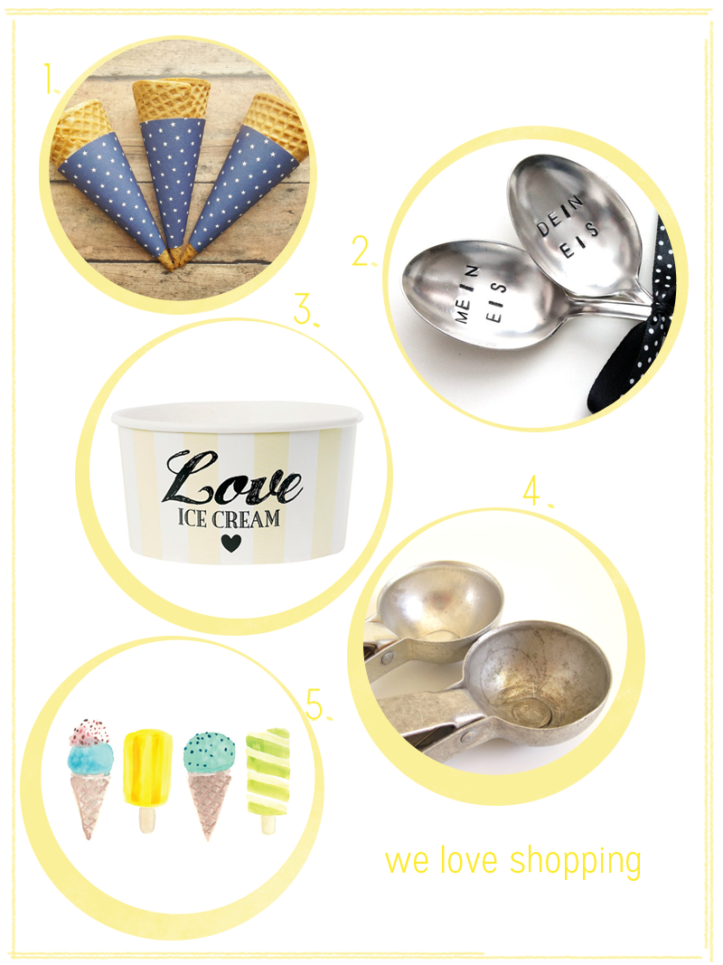 we love shopping: icecream |we love handmade