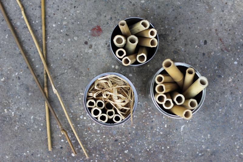 Insektenhotel mit Bambus für Bienen |we love handmade