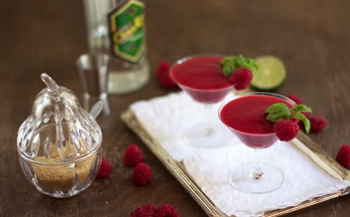 Eat Seasonal: Himbeer Daiquiri   we love handmade