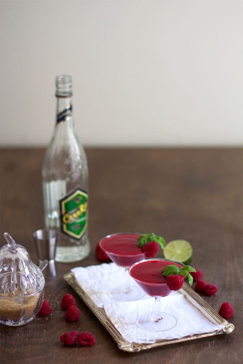 Eat Seasonal: Himbeer Daiquiri | we love handmade