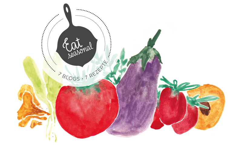Eat seasonal Logo | we love handmade