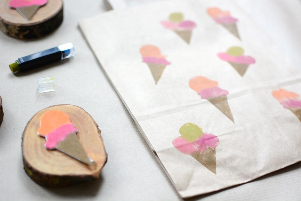 Eistüten-Stempel |we love handmade