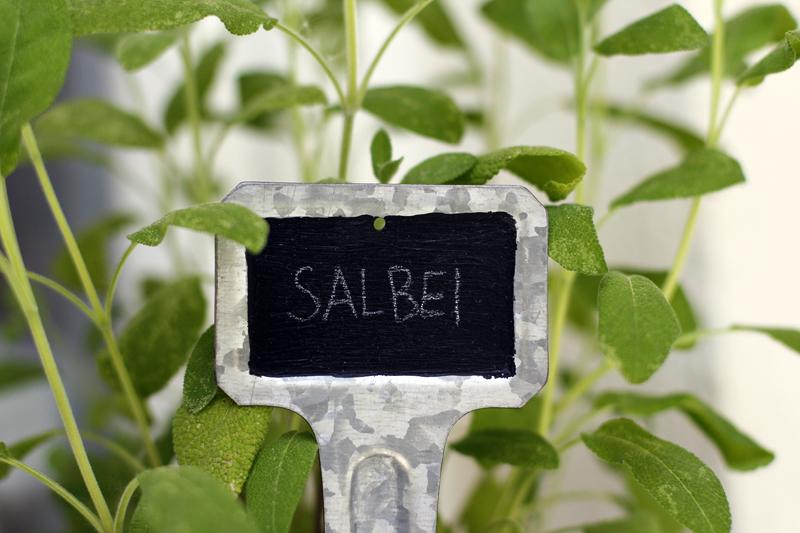 Garten DIY Pflanzenbeschriftung| we love handmade