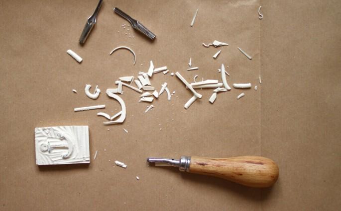 Workshop: Stempel selber machen   we love handmade