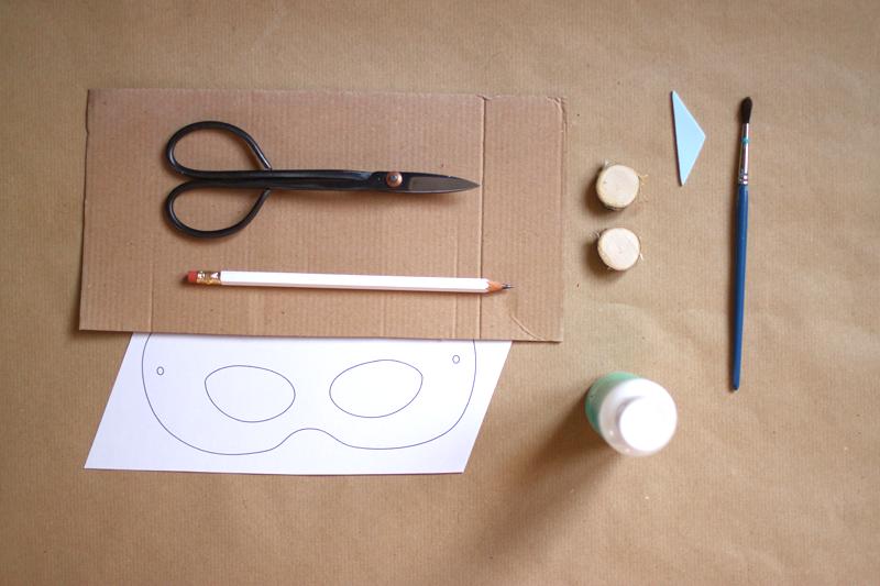 Stempelmaske | material | welovehandmade