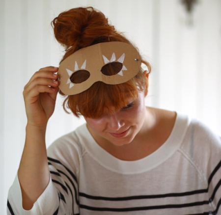 DIY für Kiddies: Stempelmasken