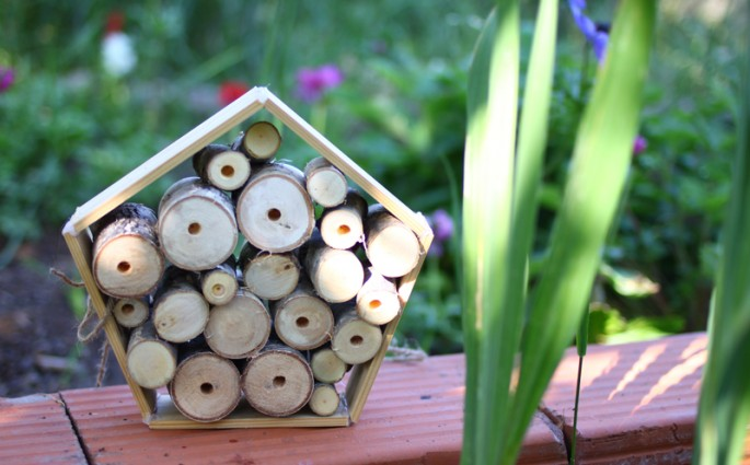 insektenhotel 5eck |we love handmade