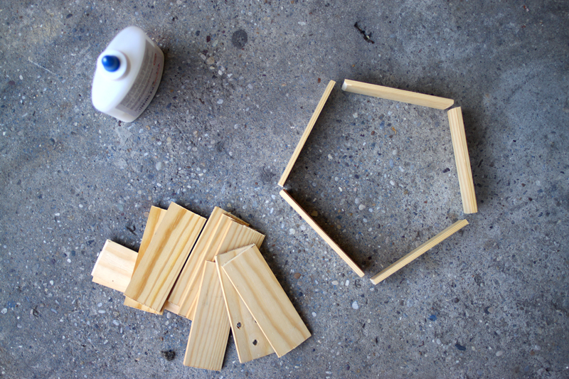 insektenhotel | 5eck | schneiden |we love handmade