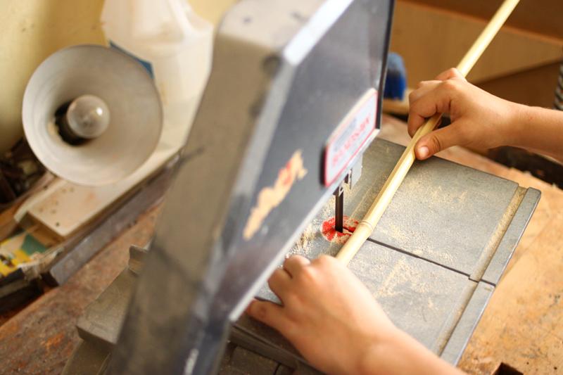 Bambus zuschneiden |we love handmade