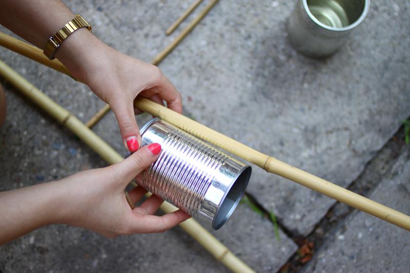 Insektenhotel aus Bambus und Dosen |we love handmade