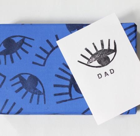 DIY: Stempel für Geschenkpapier