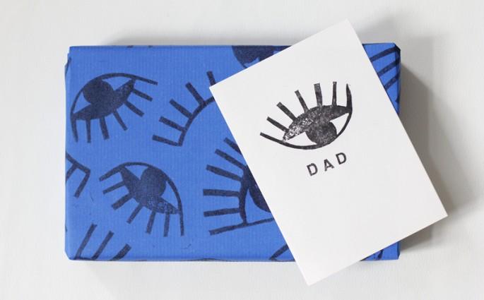 Stempel mit Augen Print | we love handmade
