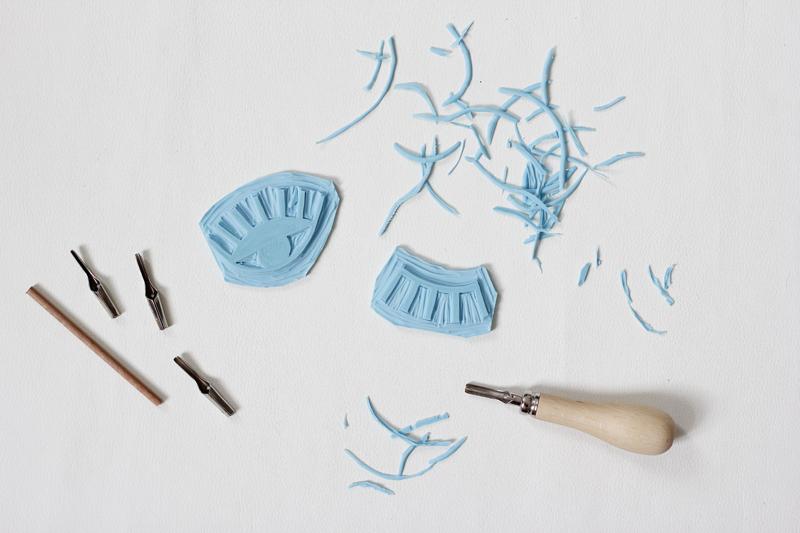Stempel selber machen | we love handmade