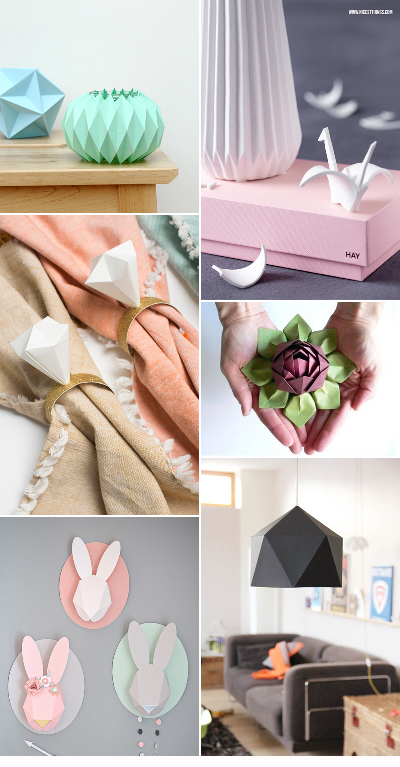 we love Inspiration Origami | we love handmade