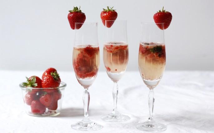 Drink-Erdbeer-Secco |we love handmade