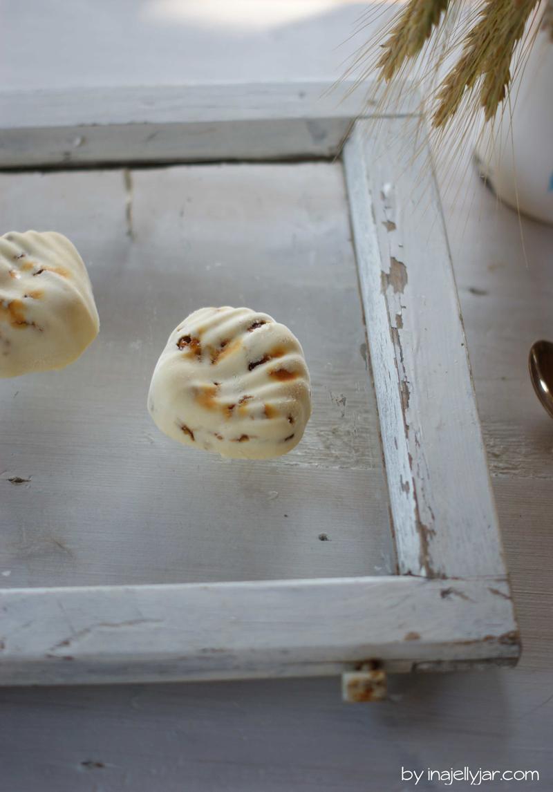 Mandeleis mir Marzipan und Krokant | we love handmade