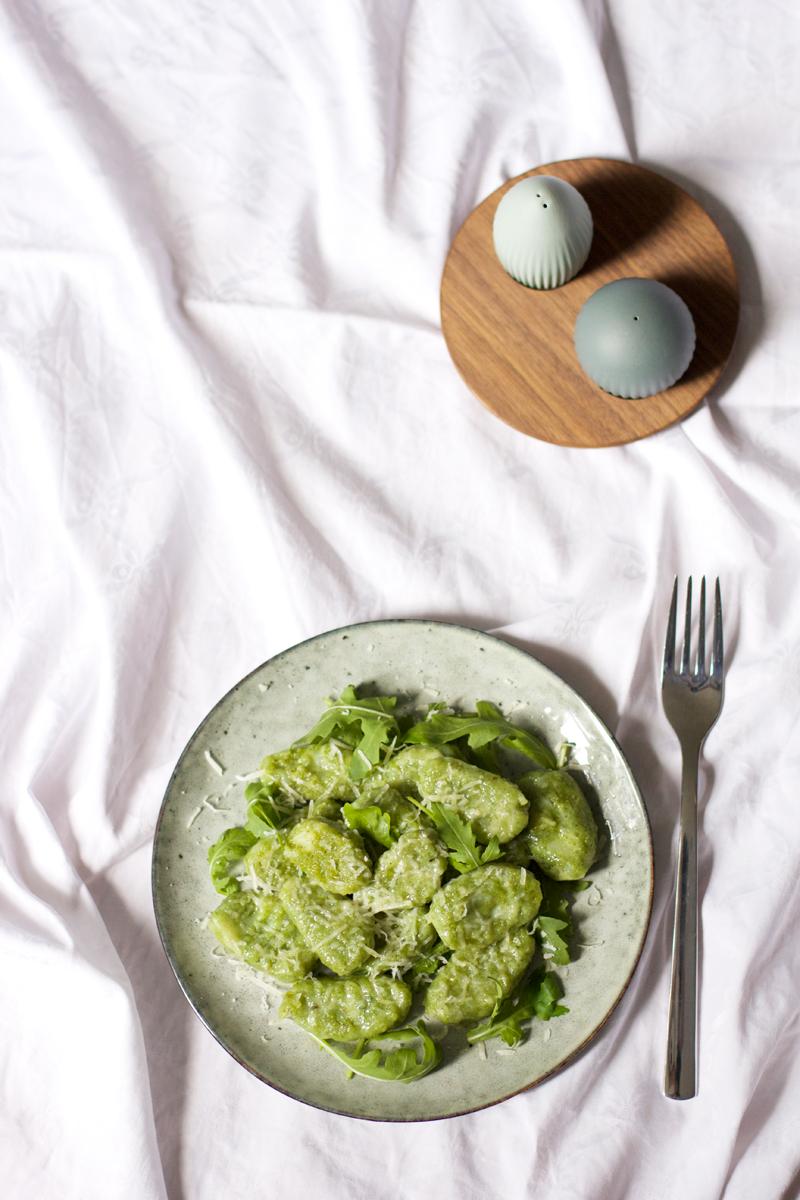 Rezept für Rucola-Gnocchi |we love handmade