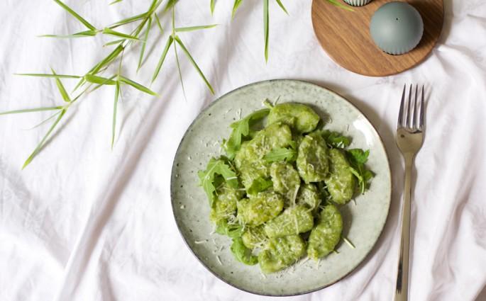 Rucola-Gnocchi Rezept |we love handmade