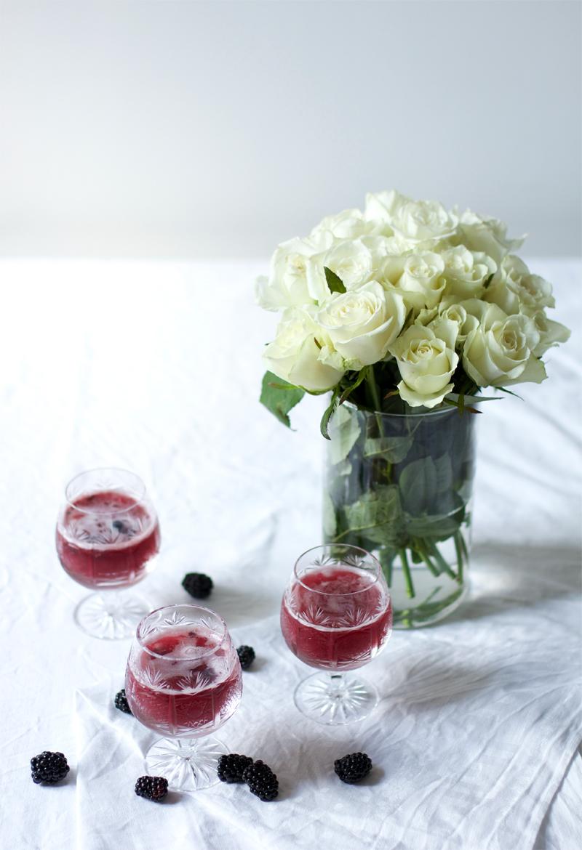 brombeer-Lavendel-Spritzer |we love handmade