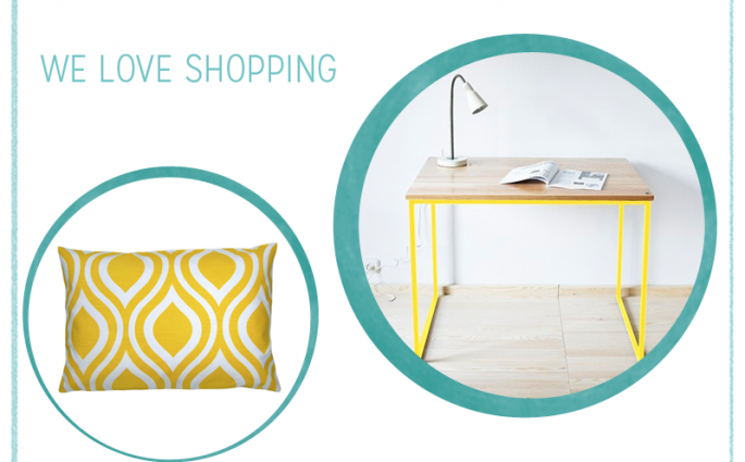 gelbe Wohnaccessoires |we love handmade