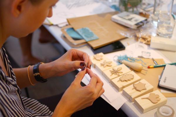 Stempel-Workshop. Stempel aus Moosgummi |we love handmade