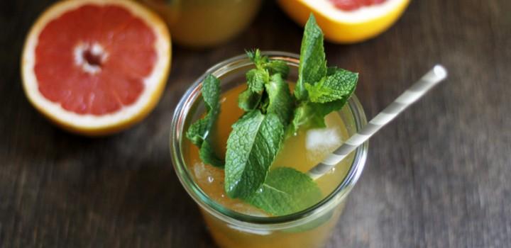 Drinks: Grapefruit-Eistee
