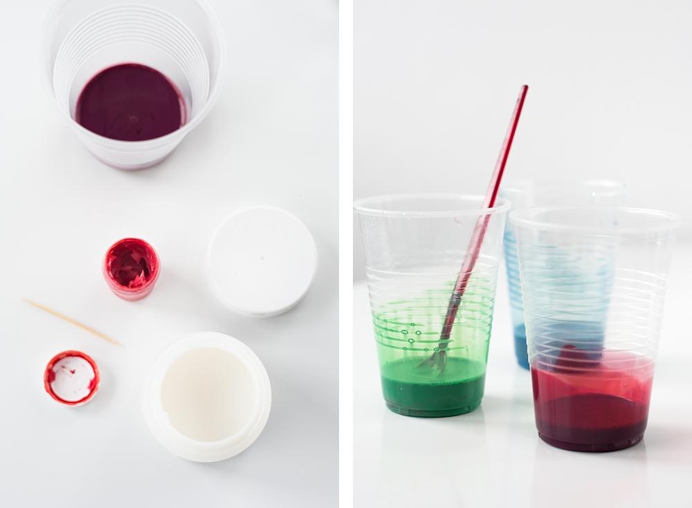 gläser einfärben mit Lebensmittelfarbe |we love handmade