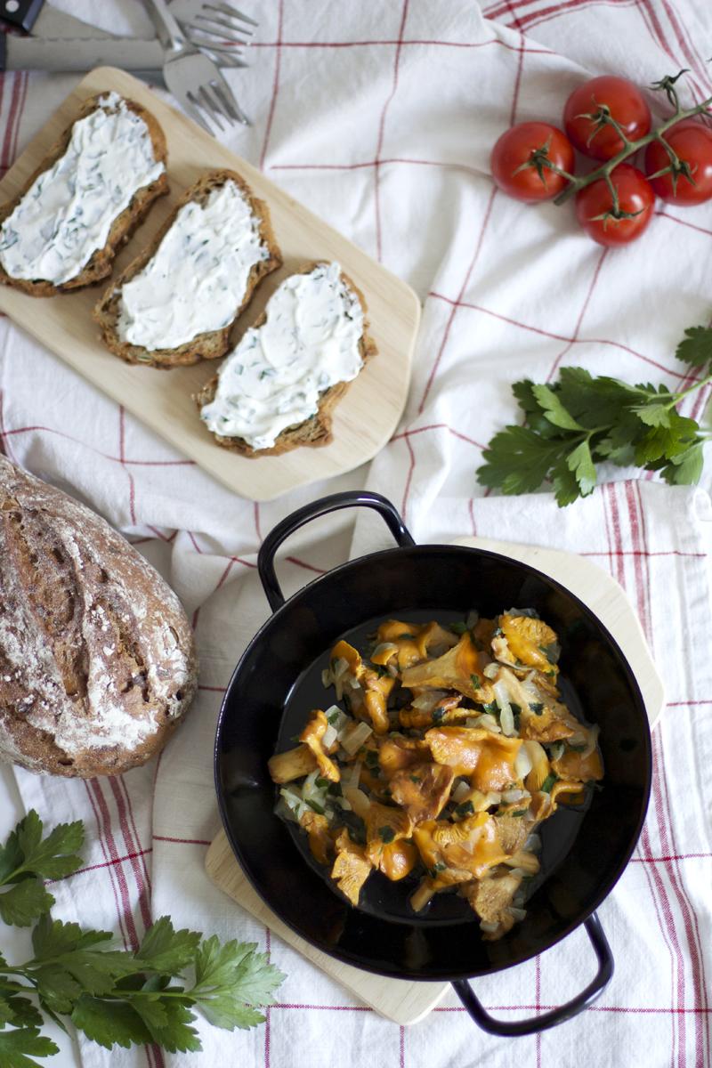 Eierschwammerl-Toast |we love handmade
